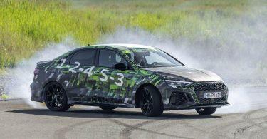 Новий Audi RS 3 отримає режим дріфту