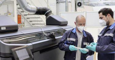 Volkswagen буде друкувати деталі на 3D-принтері по-новому