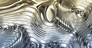 Рідкий метал вміє змінювати свою форму і відбиваність світла