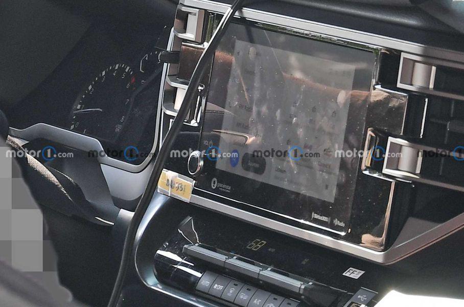Шпигунська фотографія Toyota Tundra