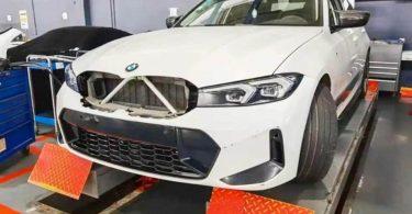 Оновлений BMW 3-Series не отримає гігантські «ніздрі»: перша фотографія без камуфляжу