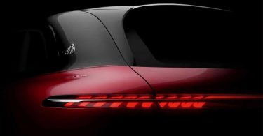 Електричний кросовер Mercedes-Maybach: перше зображення