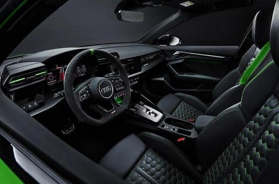 Інтер'єр нової Audi RS 3, cochespias.net
