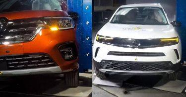 Відео: нові Opel Mokka і Renault Kangoo проходять краш-тести EuroNCAP