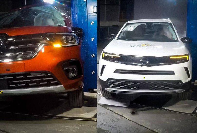 Opel Mokka і Renault Kangoo