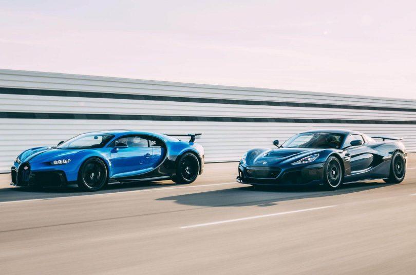Bugatti та Rimac