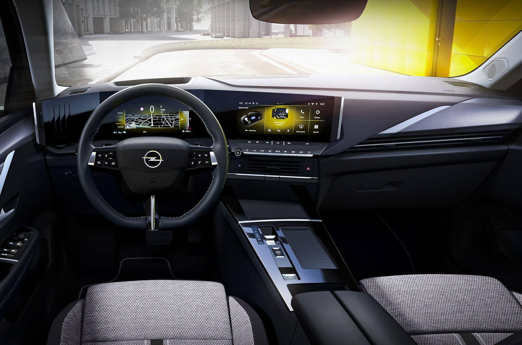 Нова Opel Astra
