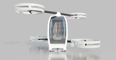 NeXt iFLY - безпілотна кабінка для польотів по місту