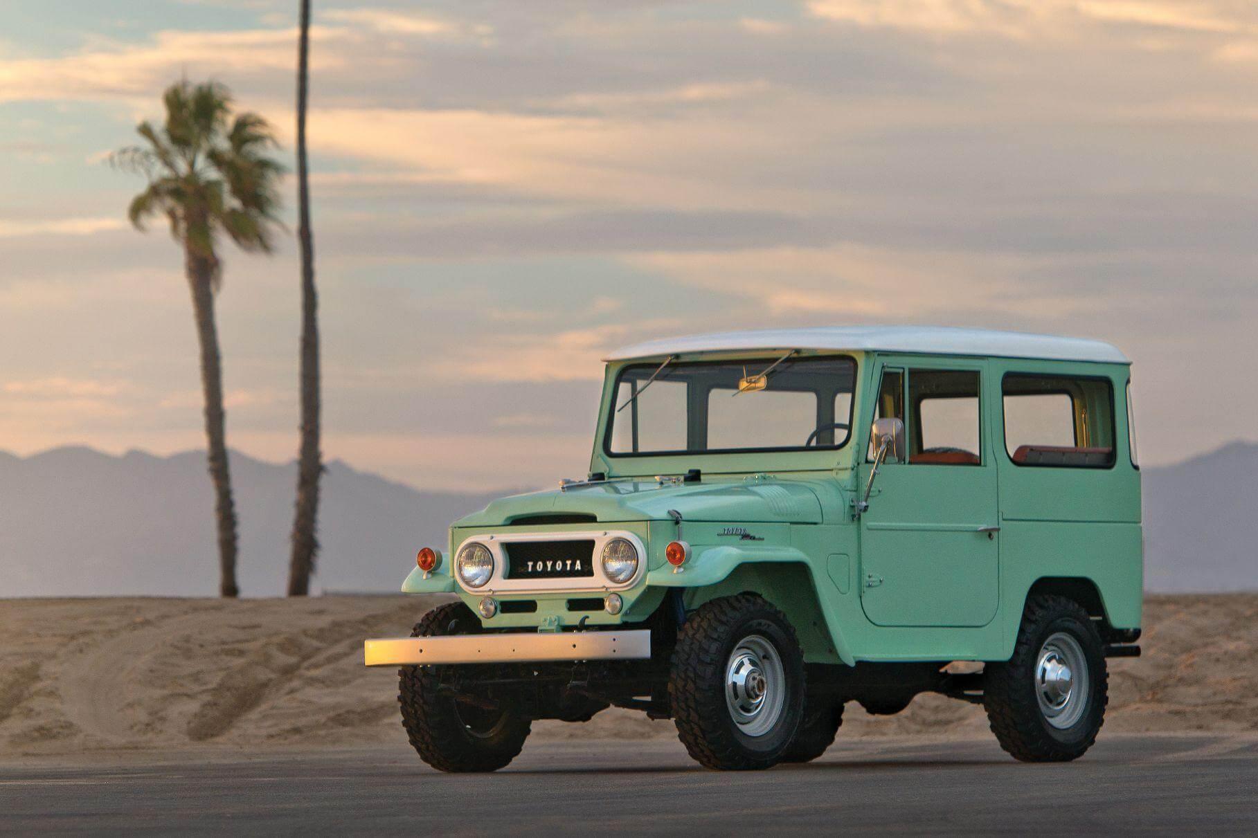 Toyota почне випускати запчастини для старого Land Cruiser