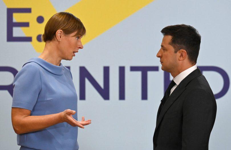 Кальюлайд на саміті Кримської платформи
