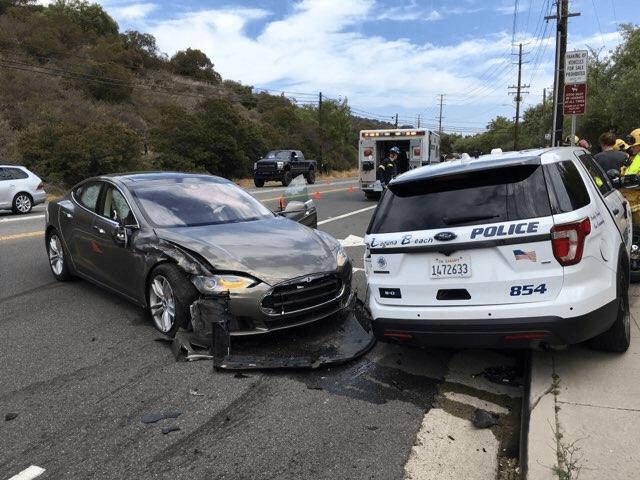 Tesla аварія