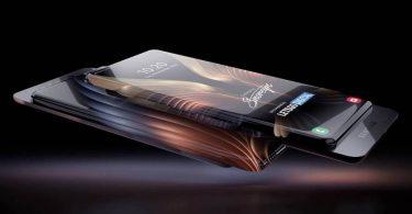 Samsung запатентувала смартфон з висувним гнучким дисплеєм