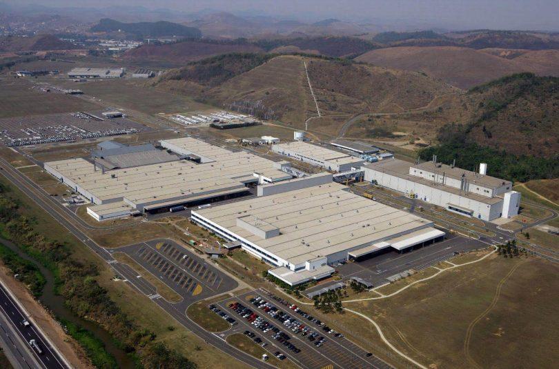 Колишній завод Mercedes-Benz в Бразилії