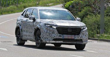 Honda CR-V нового покоління сфотографували під час випробувань