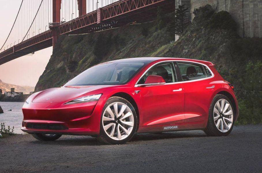 Неофіційний рендер доступного електрокара Tesla