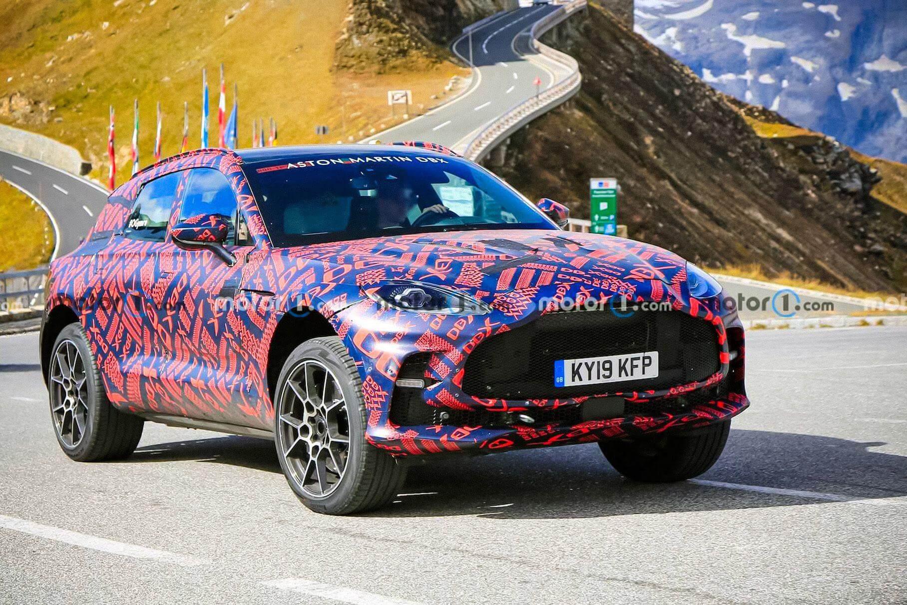 Aston Martin DBX S