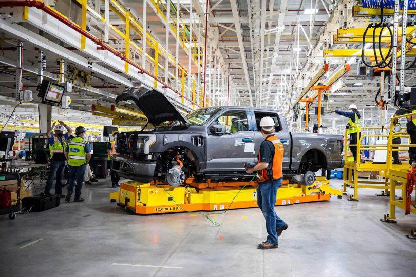 Виробництво Ford F-150 Lightning