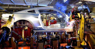 Виробництво Ford Mustang