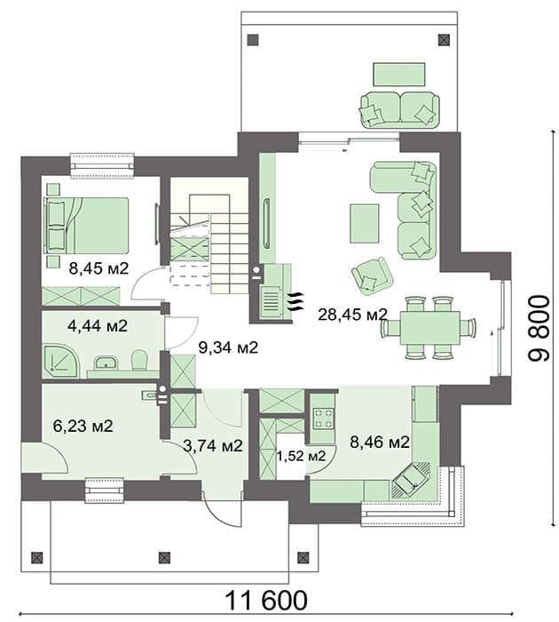 Модульні будинки