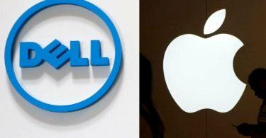 Apple і Dell підсилюють свої позиції на ринку ПК
