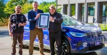 Volkswagen ID.4 встановив рекорд Гіннеса по дальності поїздки в межах однієї країни
