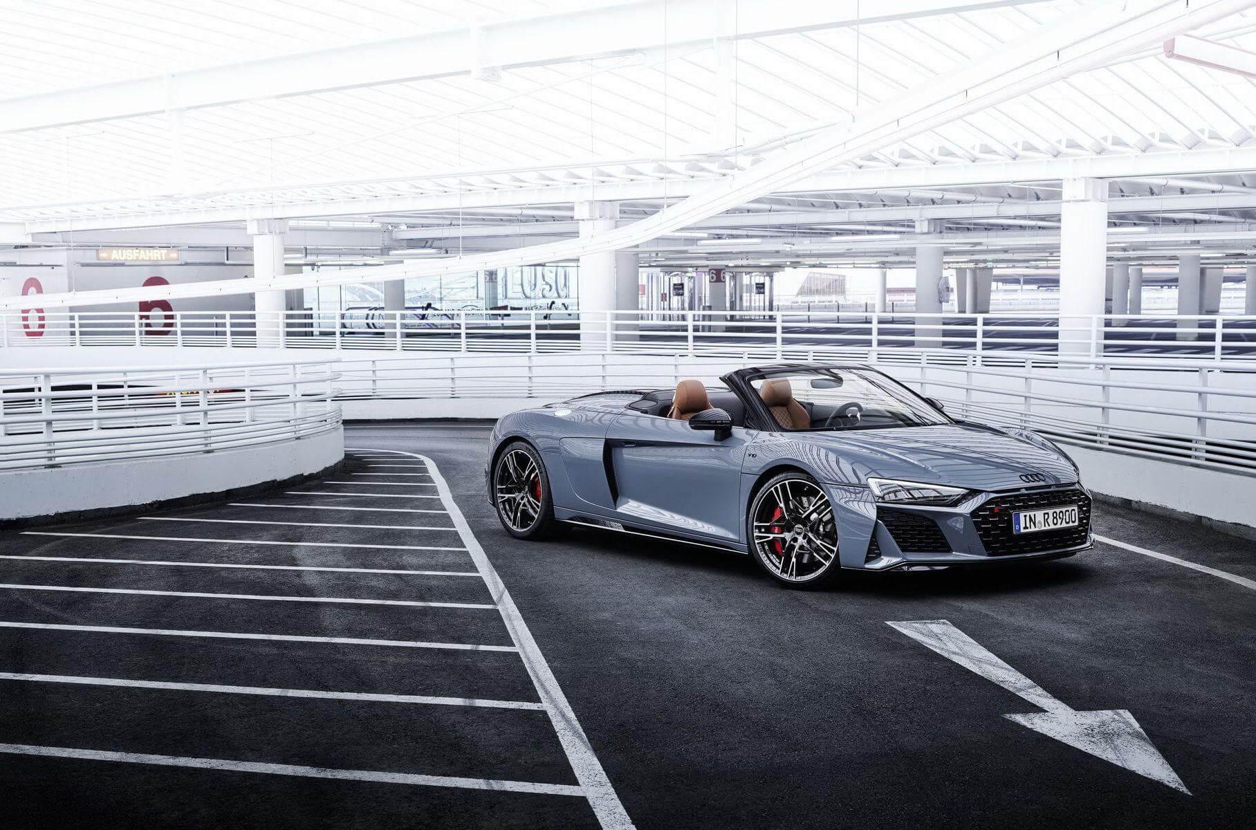Audi R8 performance RWD Spyder