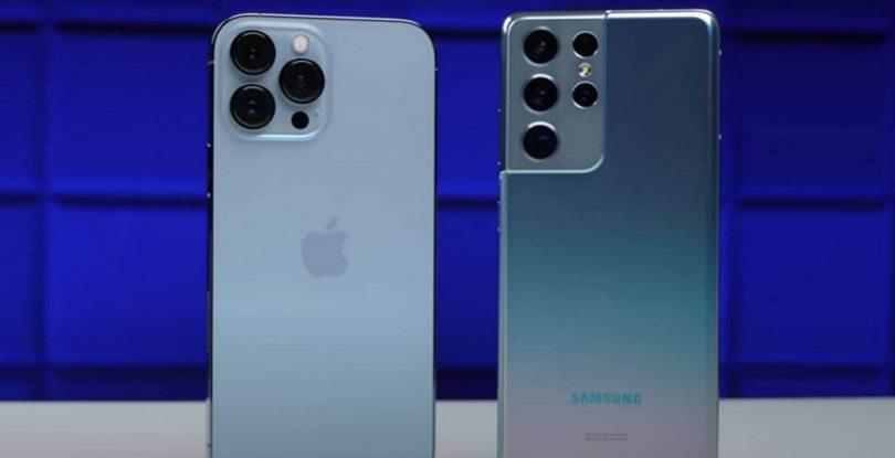 iphone 13 pro max vs s21 ultra